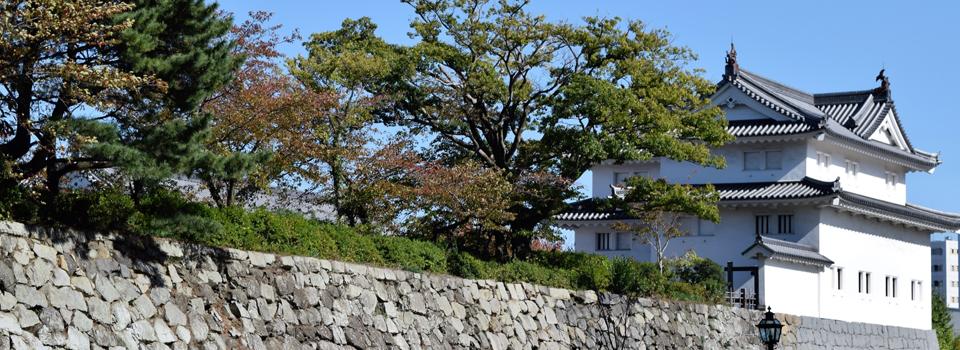 県議会議員 小長井よしお 駿府城